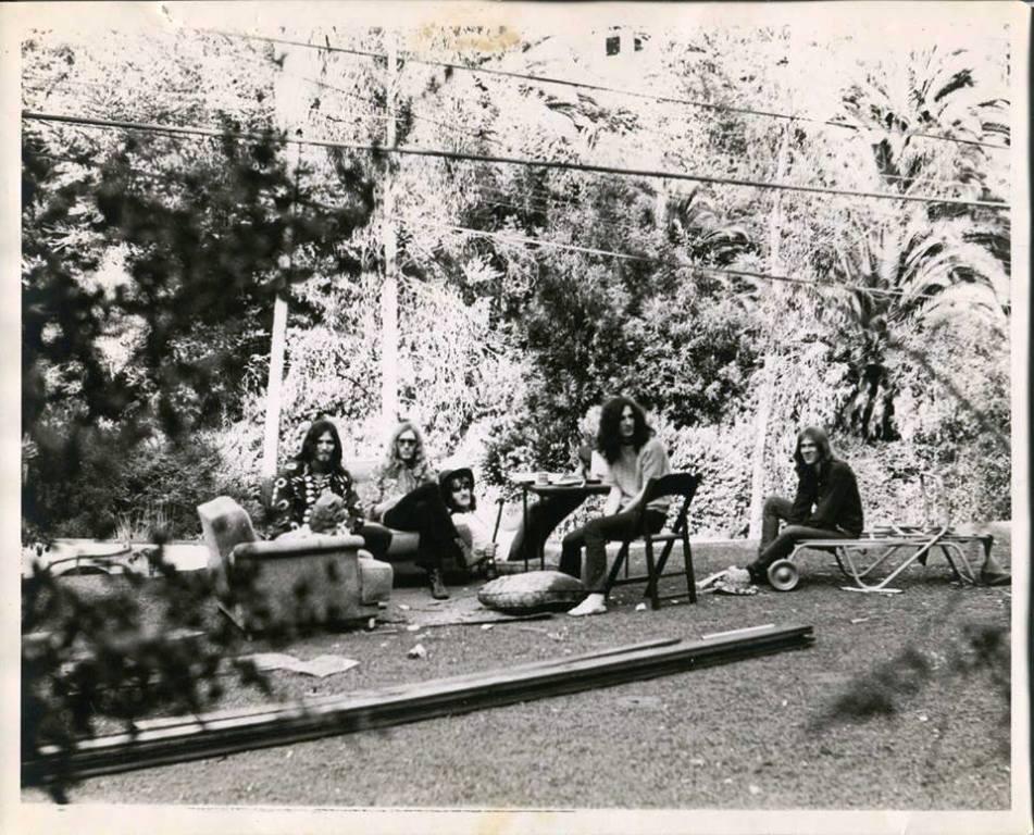 68-69 Cal Schenkel La Log cabin