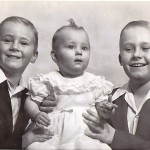 Glen, Ken and baby Janice