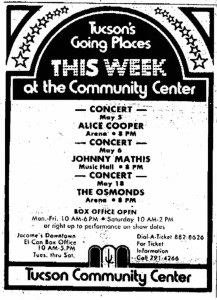1973-04-28 Tucson Daily Citizen [Show Advert]