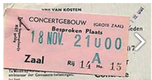 72concertgebow in holland