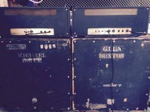 6marshall amps