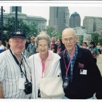 Ken Buxton with parents