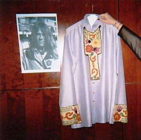 Actual shirt worn by Glen in photo