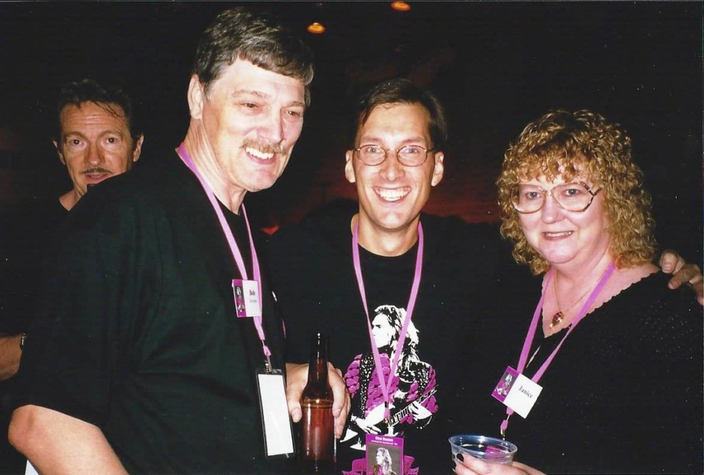 Bob and Janice with Paul Brenton (center)