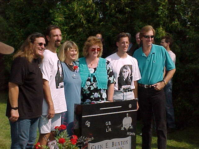 MB, CO-ORGANIZER BILL RISOLI, FIANCE LORI MILLER, SISTER JANICE, PAUL BRENTON, NS